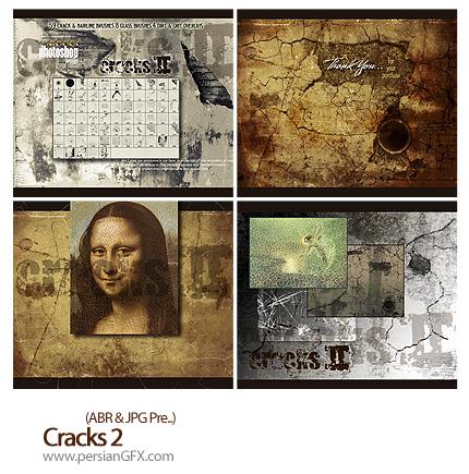 دانلود براش ایجاد ترک - Cracks 02