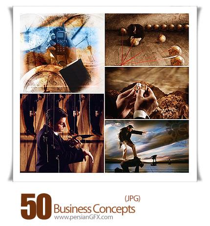 دانلود تصاویرمفهومی از کسب و کار و تجارت - Business Concepts