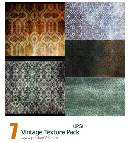 دانلود بافت قدیمی - Vintage Texture Pack