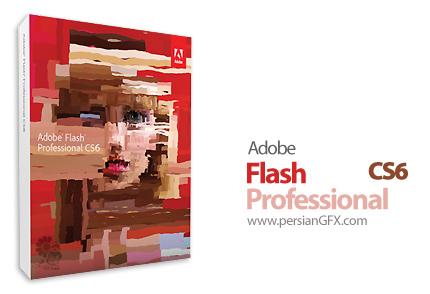 دانلود ادوبی فلش، نرم افزار ساخت محتوای انیمیشن و چند رسانه ای - Adobe Flash Professional CS6