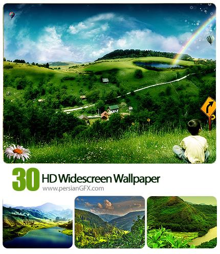 دانلود تصاویر والپیپر عکس های طبیعت - HD Widescreen Wallpaper