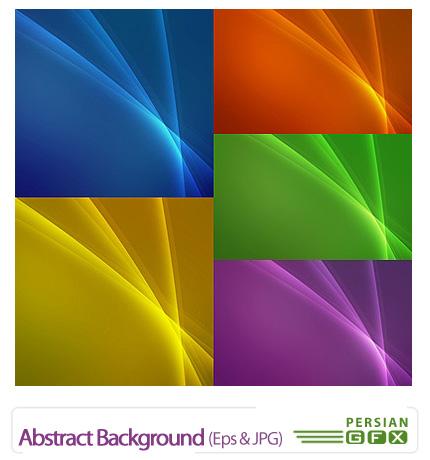 دانلود تصاویر وکتور پس زمینه های رنگارنگ - Abstract Background