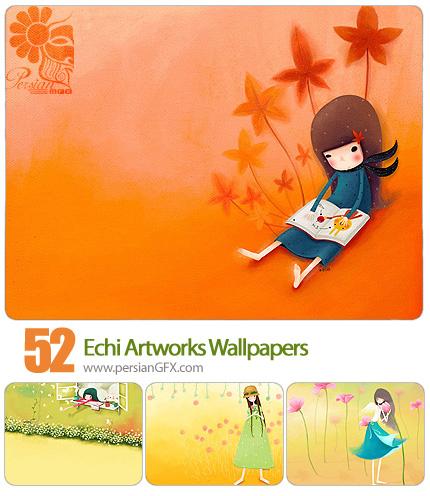 دانلود تصاویر والپیپر عکس های فانتزی - Echi Artworks Wallpapers