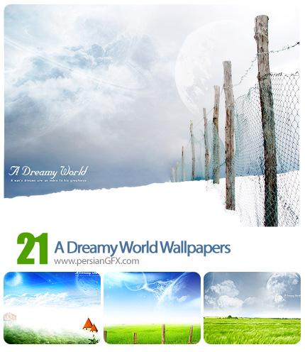 دانلود تصاویر والپیپر عکس های طبیعت رویایی - A Dreamy World Wallpapers