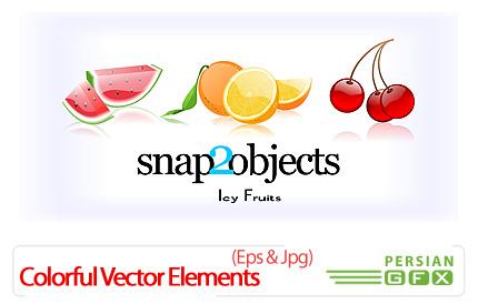 دانلود تصاویر وکتور میوه - Vector Fruits