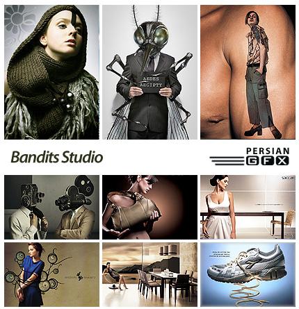 دانلود تصاویر تبلیغاتی خلاقانه - Bandits Studio