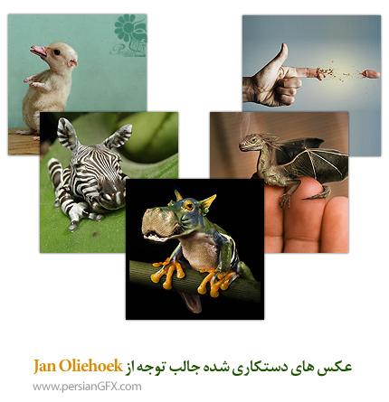 عکس های دستکاری شده جالب توجه از Jan Oliehoek