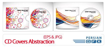 دانلود نمونه کاور سی دی - CD Covers Abstraction