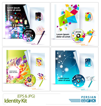دانلود کارت ویزیت و ست اداری - Identity Kit