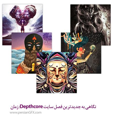 نگاهی به جدیدترین فصل سایت Depthcore: زمان