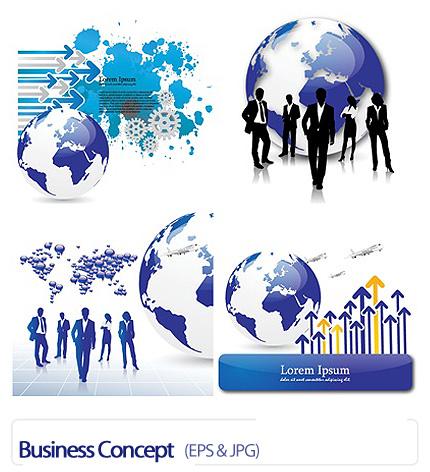 دانلود وکتورهای تجاری - Business Concept