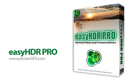 دانلود نرم افزار ساخت و ویرایش تصاویر  HDR - easyHDR PRO 2.21.2