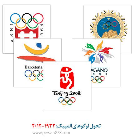 تحول لوگوهای المپیک: 2012-1932