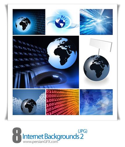 دانلود تصاویر بک گراند اینترنت - Internet Backgrounds 02
