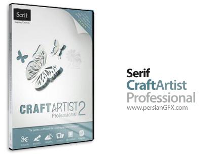 دانلود نرم افزار ساخت انواع کارت، آلبوم عکس و دیگر پروژه های هنری - Serif CraftArtist Professional 2.0.0.22