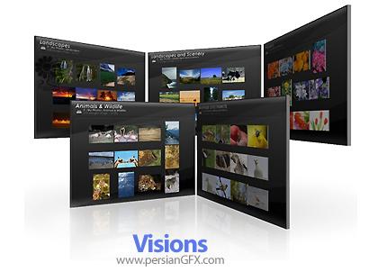 دانلود نرم افزار مدیریت تصاویر در محیطی سه بعدی - Visions 1.4.4.1840