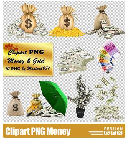 دانلود کلیپ آرت پول - Clipart PNG Money