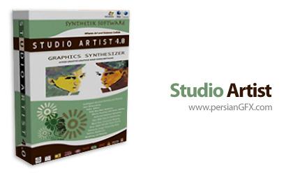 دانلود نرم افزار سینتی سایزر گرافیکی برای پردازش تصویر و ویدئو - Studio Artist 4.05