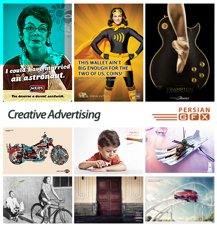 دانلود پوسترهای تبلیغاتی خلاق - Advertising Creative 114