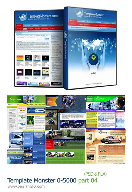 دانلود مجموعه تصاویر قالب های آماده وب بخش چهارم - Template Monster 0 to 5000 - 04