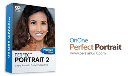 دانلود نرم افزار رتوش چهره - OnOne Perfect Portrait Premium Edition 2.0 for Win Vista, 7 & 8 x86/x64