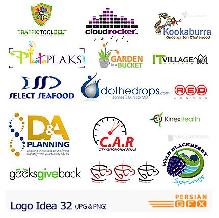 دانلود مجموعه تصاویر آرشیو ایده لوگو - Logo Idea 32