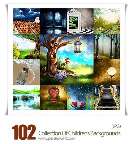 دانلود تصاویر با کیفیت پس زمینه های کودکانه - Collection Of Childrens Backgrounds