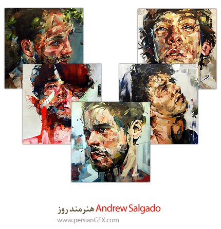 Andrew Salgado هنرمند روز