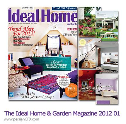 دانلود مجله طراحی دکوراسیون، طراحی داخلی - The Ideal Home And Garden Magazine 2012 Full Collection 01