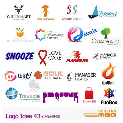 دانلود مجموعه تصاویر آرشیو ایده لوگو - Logo Idea 43