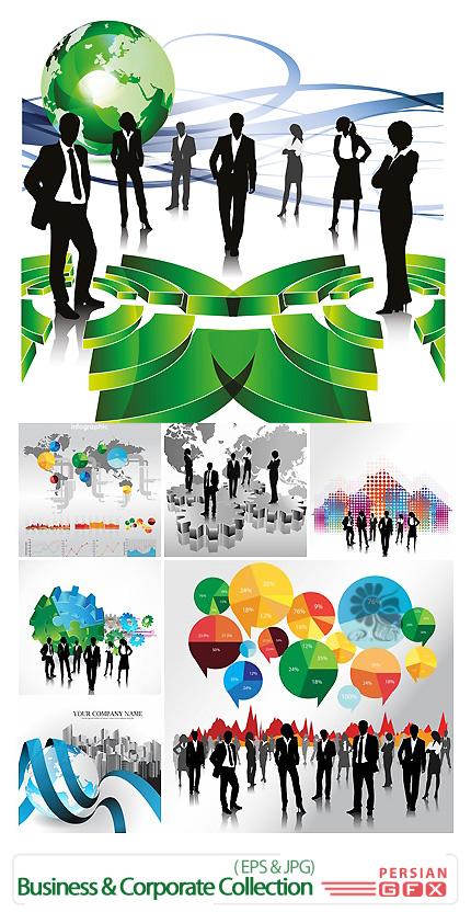 دانلود تصاویر وکتور مجموعه شرکت ها، کسب و کار، جلسات، کارمندان از فوتولیو - Fotolio Business And Corporate Collection