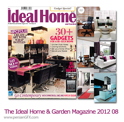 دانلود مجله طراحی دکوراسیون، طراحی داخلی - The Ideal Home And Garden Magazine 2012 Full Collection 08