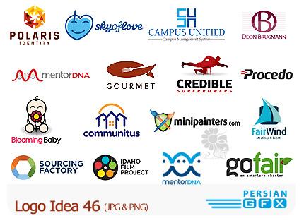 دانلود مجموعه تصاویر آرشیو ایده لوگو - Logo Idea 46