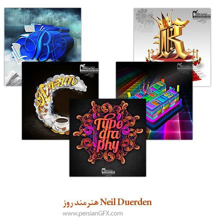 Neil Duerden هنرمند روز