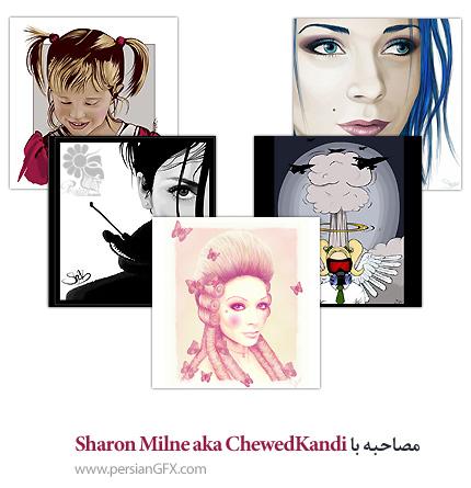مصاحبه با Sharon Milne aka ChewedKandi