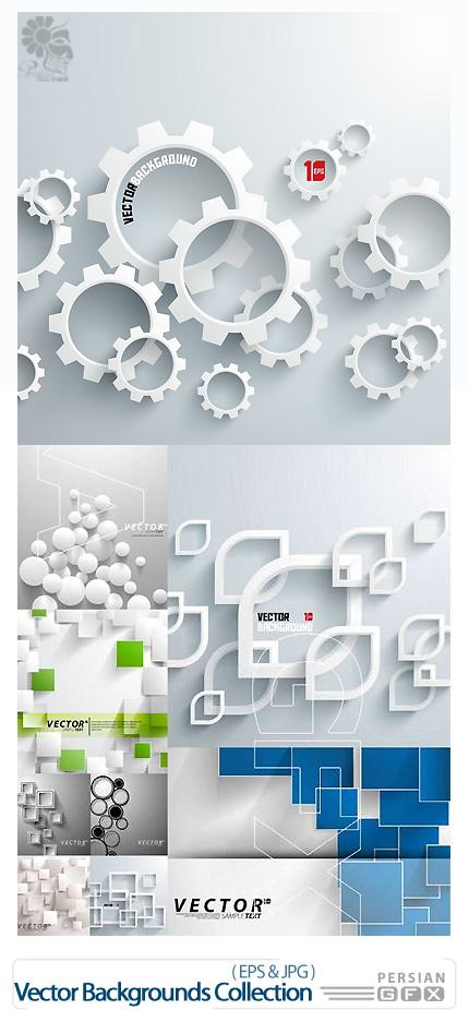 دانلود تصاویر وکتور پس زمینه های انتزاعی از فوتولیو - Fotolio Vector Backgrounds Collection