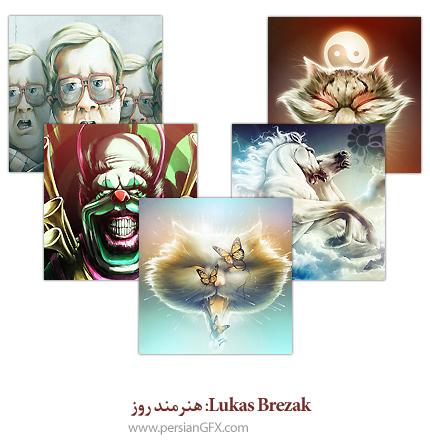 Lukas Brezak: هنرمند روز