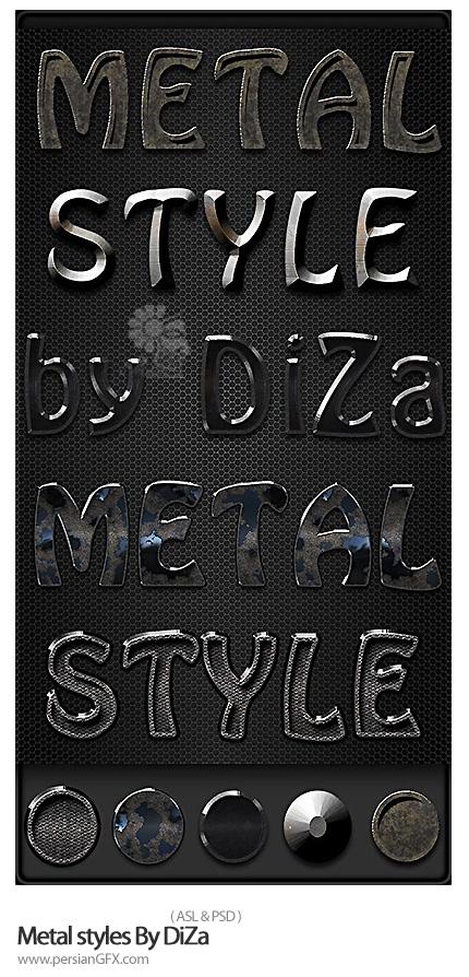دانلود استایل فلزی - Metal styles By DiZa