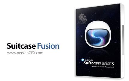 دانلود نرم افزار حرفه ای مدیریت فونت - Suitcase Fusion 5 16.0.0.556