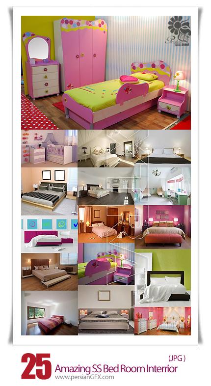 دانلود تصاویر با کیفیت طراحی داخلی اتاق خواب کودکانه و بزرگسال از شاتر استوک - Amazing ShutterStock