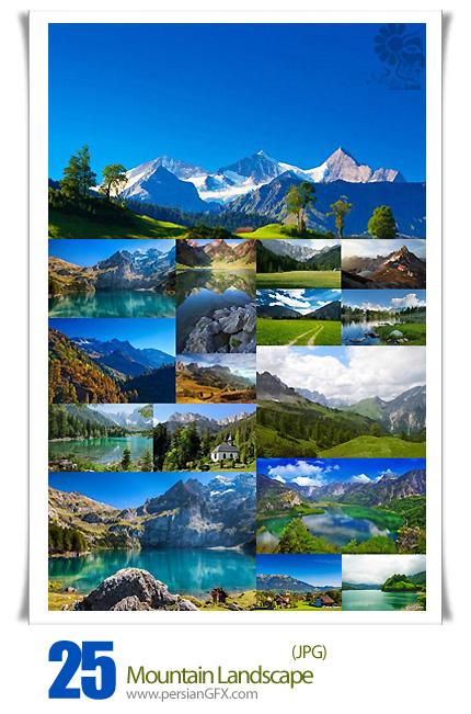 دانلود تصاویر با کیفیت چشم انداز کوه - Mountain Landscape 25 HQ Images