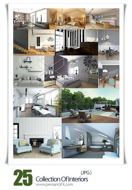 دانلود تصاویر با کیفیت طراحی داخلی خانه - Collection Of Interiors