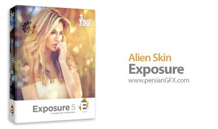 دانلود پلاگین فتوشاپ برای افکت گذاری بر روی عکس - Alien Skin Exposure 5.0.0.696 Revision 23862