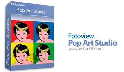 دانلود نرم افزار قرار دادن افکت بر روی تصاویر - Pop Art Studio v9.1 Batch Edition x86/x64