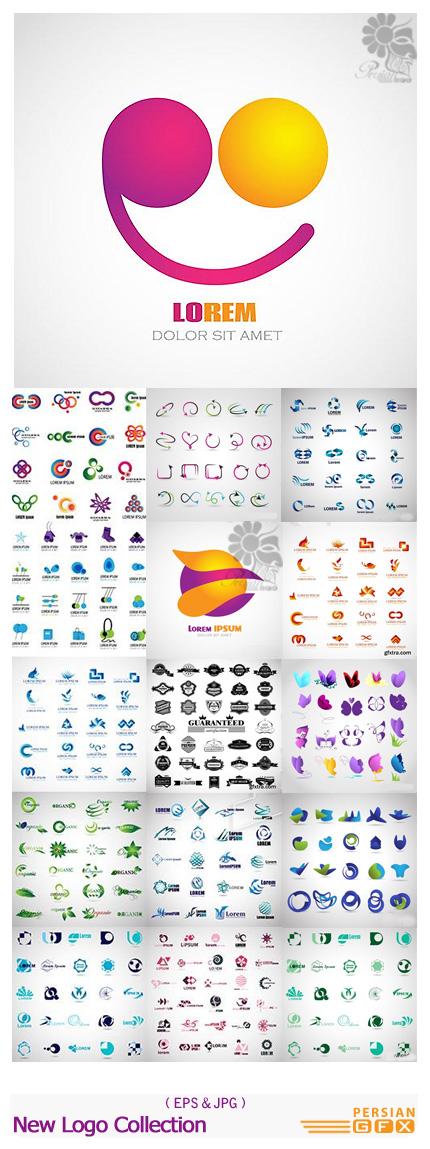 دانلود تصاویر وکتور لوگوهای متنوع از شاتر استوک - Amazing Shutterstock New Logo Collection