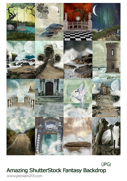 دانلود تصاویر با کیفیت پس زمینه های فانتزی از شاتر استوک - Amazing ShutterStock Fantasy Backdrop