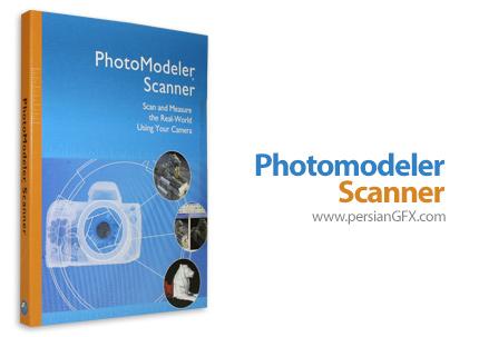 دانلود نرم افزار ساخت مدل سه بعدی از عکس ها - Photomodeler Scanner 2013.0.0.910 x86/x64