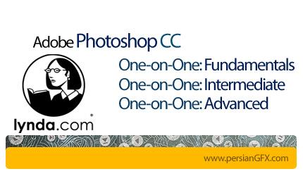 دانلود آموزش گام به گام فتوشاپ سی سی، از مقدماتی تا پیشرفته از لیندا - Photoshop CC One-on-One