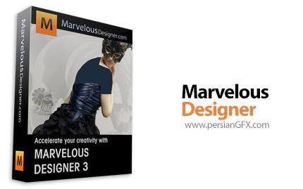 دانلود نرم افزار طراحی لباس -  Marvelous Designer 5 v2.4.51.18360 Personal WIN X64
