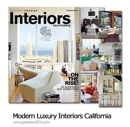 دانلود مجله طراحی و چیدمان مبلمان مدرن و کلاسیک - Modern Luxury Interiors California Magazine Spring 2013